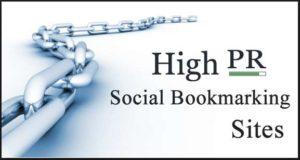 High PR Social Bookmarking Sites List