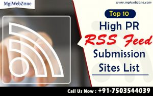 top RSS Feed Submission Site 2020