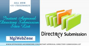 Instant Approval Directory Submission Sites List 2020