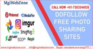 Dofollow Free Photo Sharing Sites
