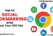 HIGH DA SOCIAL BOOKMARKING SITES