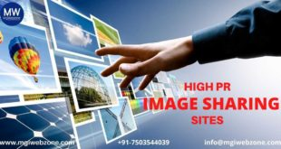 HIGH PR IMAGE SHARING SITES