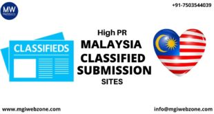 HIGH PR MALAYSIA CLASSIFIED SUBMISSION SITES