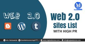 Do-follow Web 2.0 Sites List with High PR